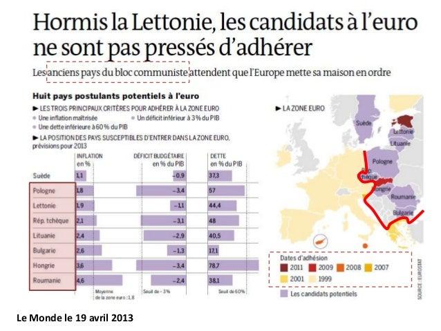 Le Monde le 19 avril 2013