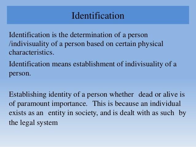 Identification, Forensic Radiology & Odontology Slide 2