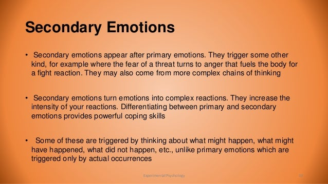 Identification Of Emotions