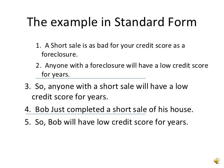 example short form