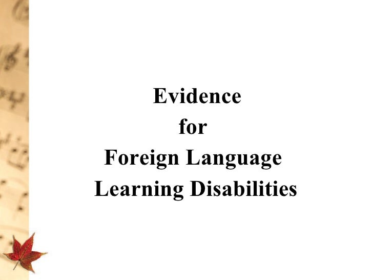 an analysis of the foreign language learning difficulties 10 language learning motivation introduction the research reported here was stimulated by both practical and theoretical considerations in the field of foreign language learning and teaching.