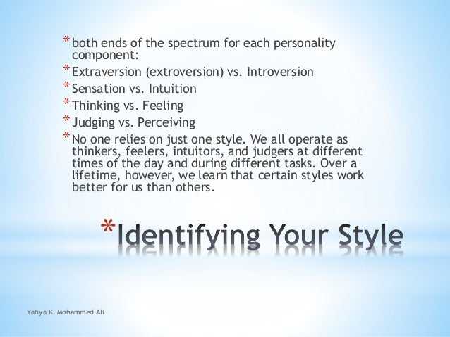 Identifying and adapting your unique gifts and style Slide 3