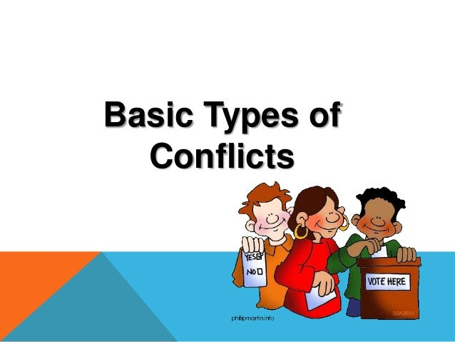 Identifying Literary Conflict – Types of Conflict Worksheet