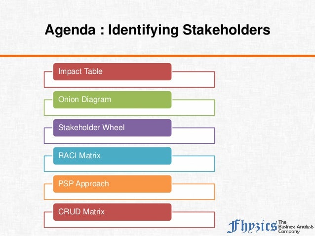 Identifying stakeholders 2 impact table onion diagram ccuart Choice Image