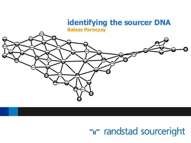 identifying the sourcer DNA Balazs Paroczay