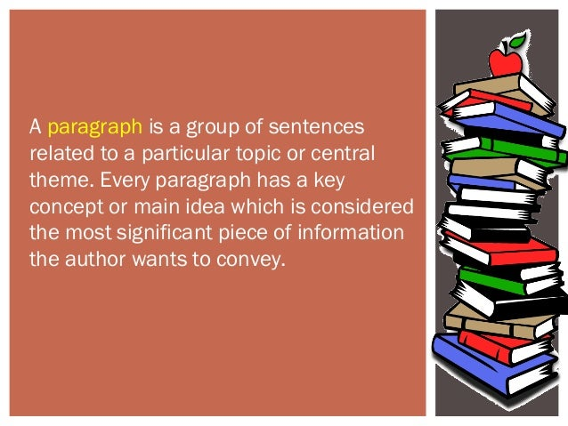 supporting ideas in a paragraph