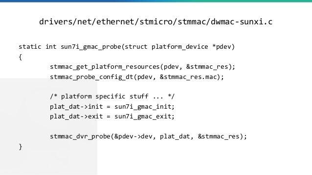 drivers/net/ethernet/stmicro/stmmac/dwmac-sunxi.c static int sun7i_gmac_probe(struct platform_device *pdev) { stmmac_get_p...