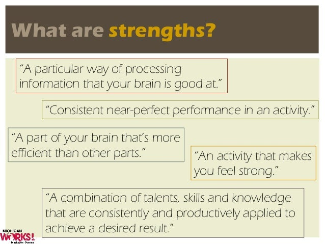 what are strengths