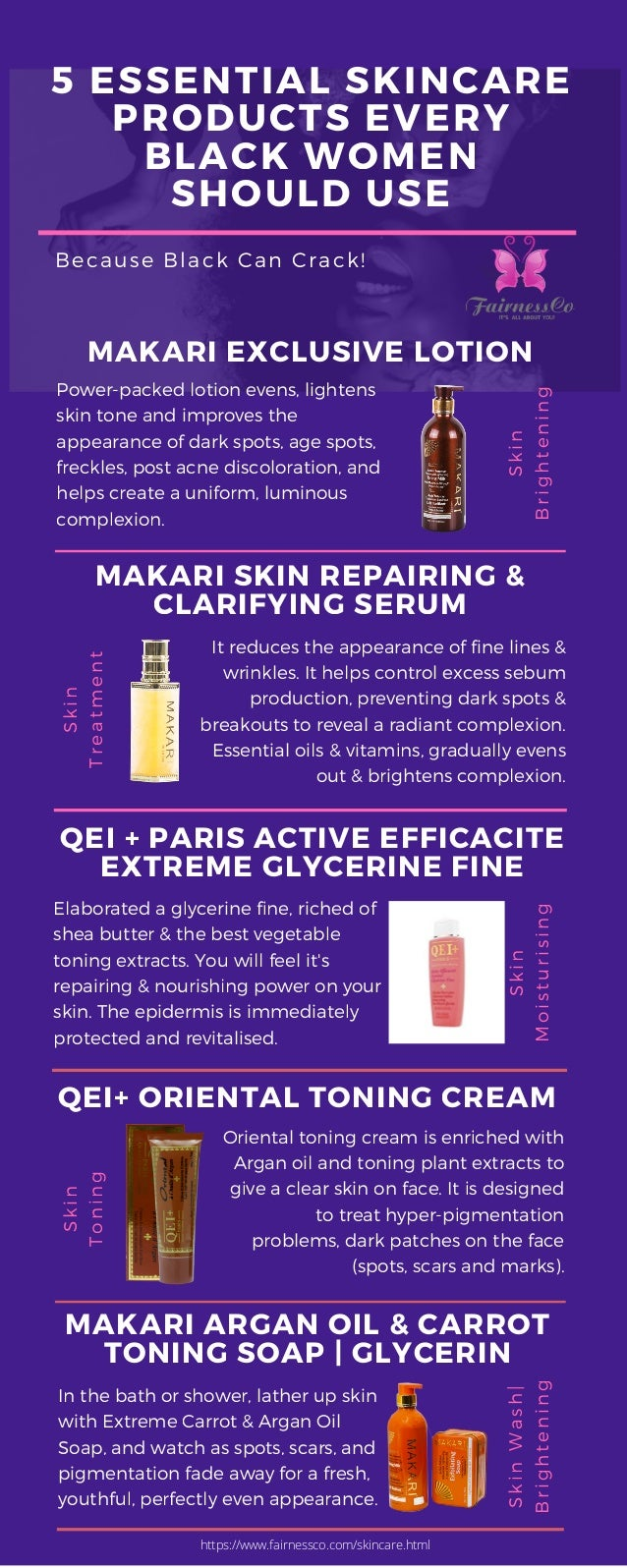 5 Essential Skincare Products Every Black Women Should Use