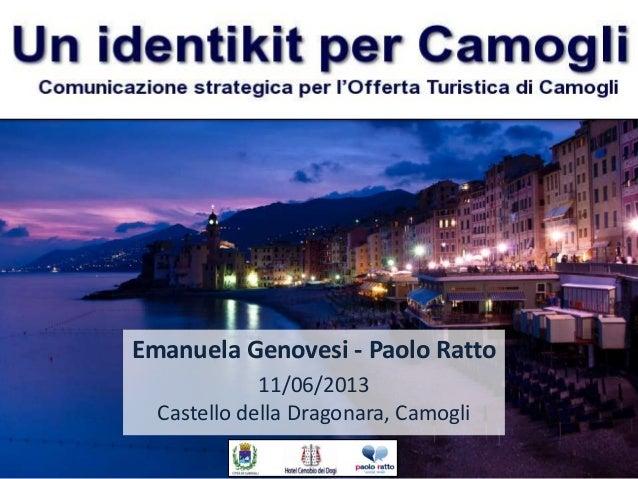 Emanuela Genovesi - Paolo Ratto11/06/2013Castello della Dragonara, Camogli