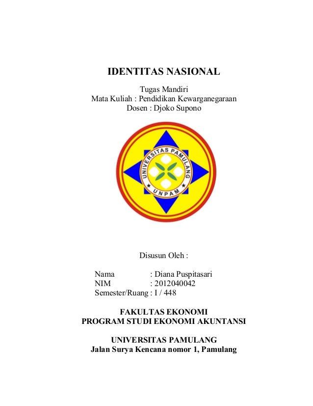 Contoh Cover Proposal Skripsi Unpam Ide Judul Skripsi Universitas