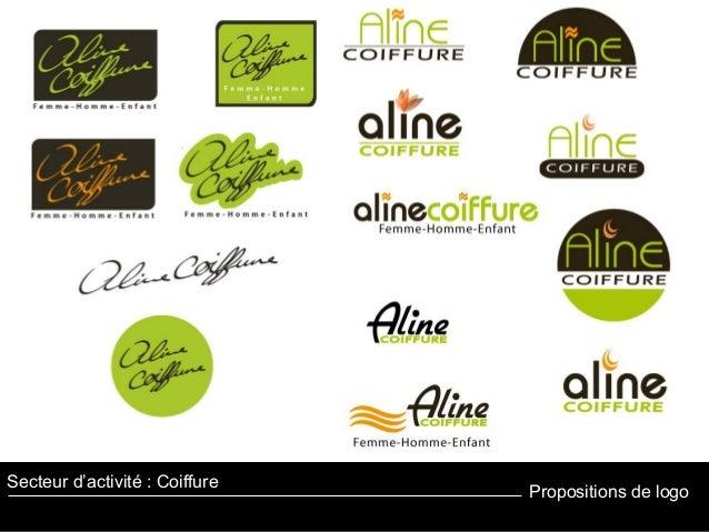 Propositions de logo Secteur d'activité : Coiffure