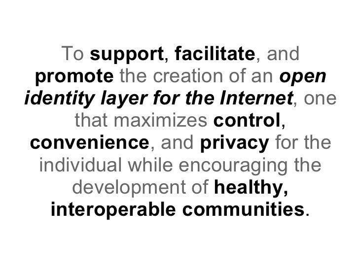 Identity Commons Slide 3