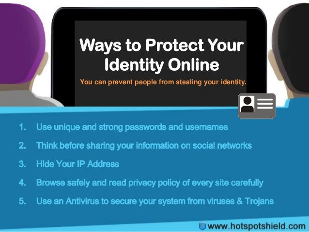 10 Essential Steps for Protecting Your Identity Online