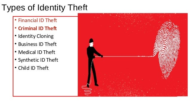 Identity Theft And There Types By Pooja Kalra