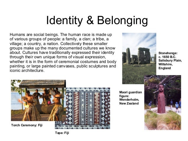 belonging identity essay questions
