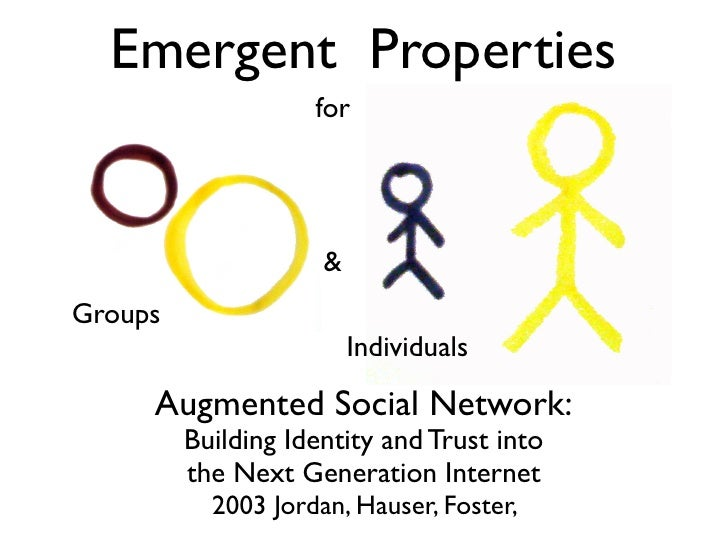 Emergent Properties                     for                          & Groups                          Individuals       A...