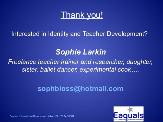 Sophie Larkin: Identity Crisis- The Business of Boosting