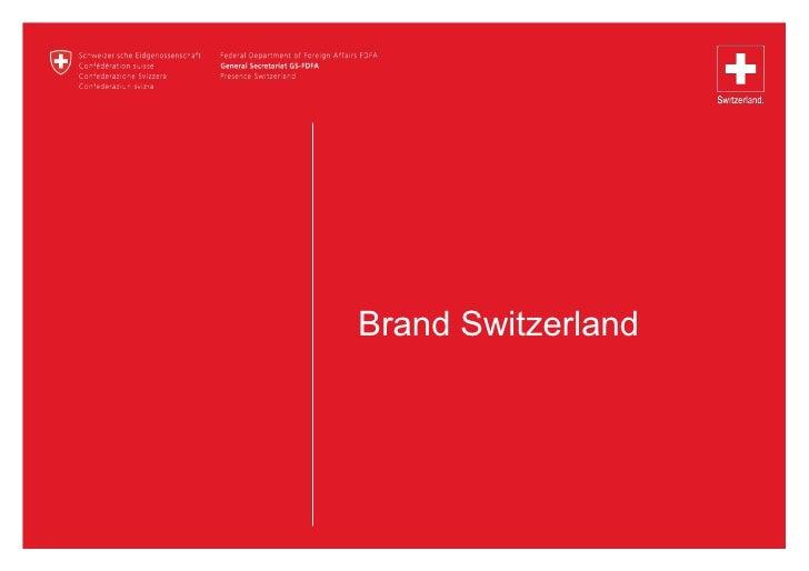 Brand Switzerland