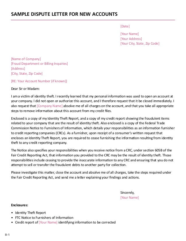 Sample letter to california creditor by victim of identity theft.