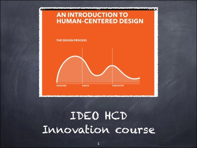 IDEO HCD Innovation course !1