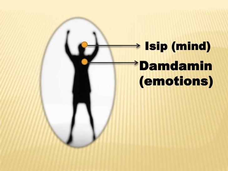 Isip (mind)Damdamin(emotions)