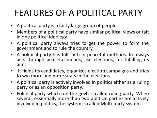 how to leave a political party