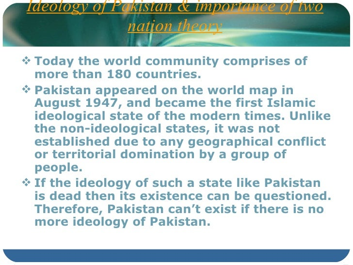 the pakistan ideology The ideology of pakistan 32,077 likes 103 talking about this analyze the importance of implementation of nizam-e-khilafat, as it is very imporant to.