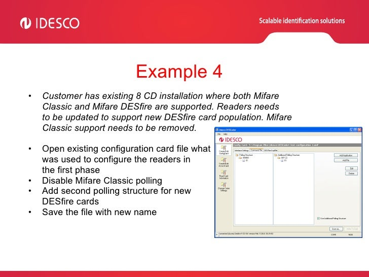 Idesco DESCoder Tutorial Presentation