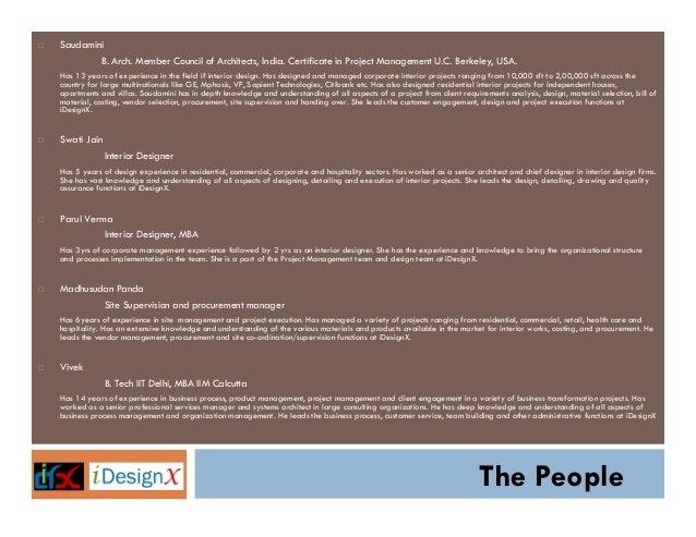 iDesignX Company Profile Presentation