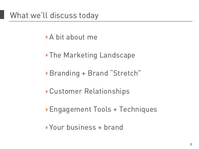 Marketing Strategy, Tools & Tactics Slide 2