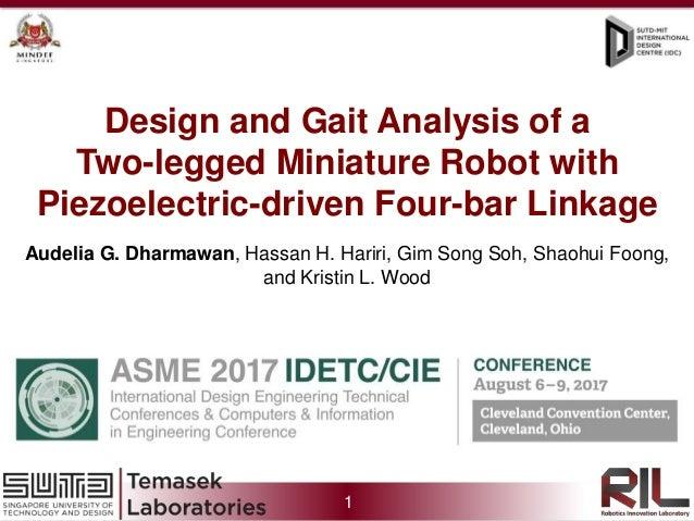1 Prof. Kevin Otto, Prof. Soh Gim Song, Prof. Foong Shaohui, Hanson Chen Xiaohan, Blake William Clark Sedore, Audelia Guma...