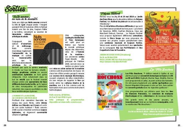 2120 Sorties Pelpass Festival Rendez-vous les 24, 25 et 26 mai 2018 au Jardin des Deux Rives pour la deuxième édition du P...