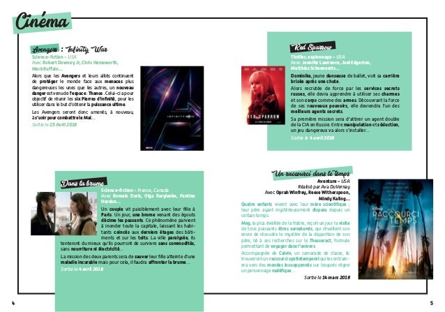 54 Cinema Avengers : Infinity War Science-fiction - USA Avec Robert Downey Jr, Chris Hemsworth, Mark Ruffalo… Alors que le...