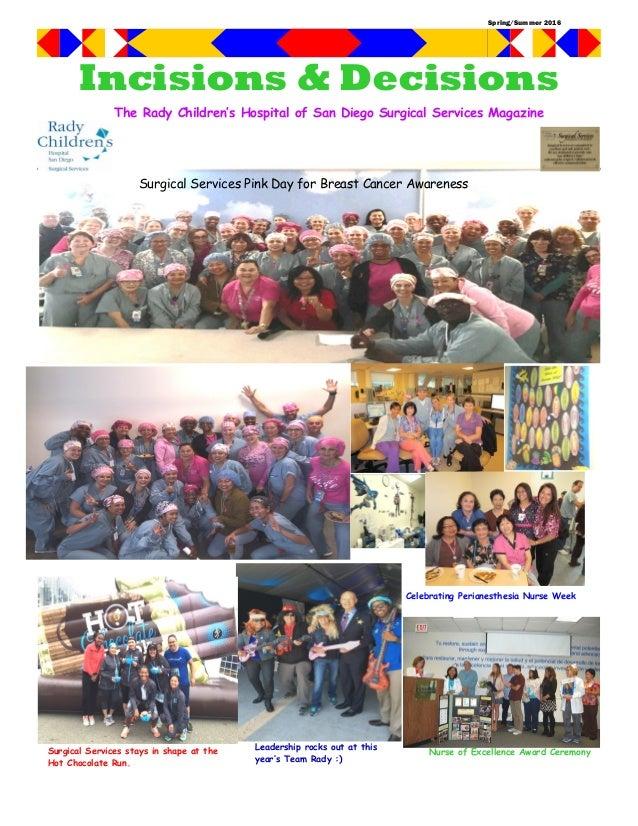 Rady Children's Surgical Services Newsletter