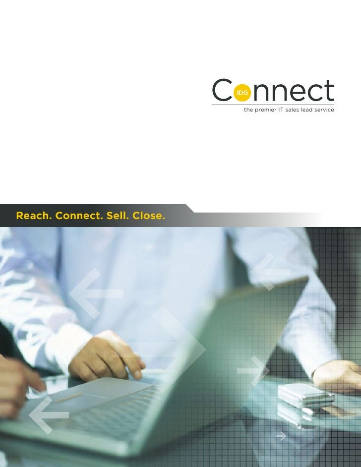 the premier IT sales lead service     Reach. Connect. Sell. Close.