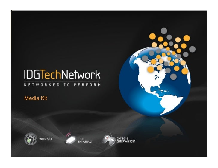 IDG TECH NETWORKMedia Kit