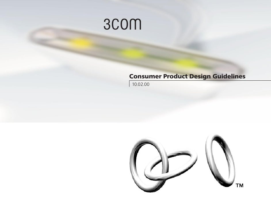 Consumer Product Design Guidelines 10.02.00