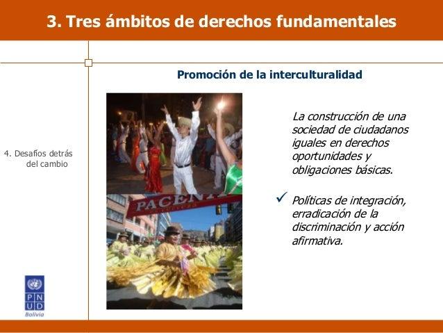 La construcción de una sociedad de ciudadanos iguales en derechos oportunidades y obligaciones básicas.  Políticas de int...