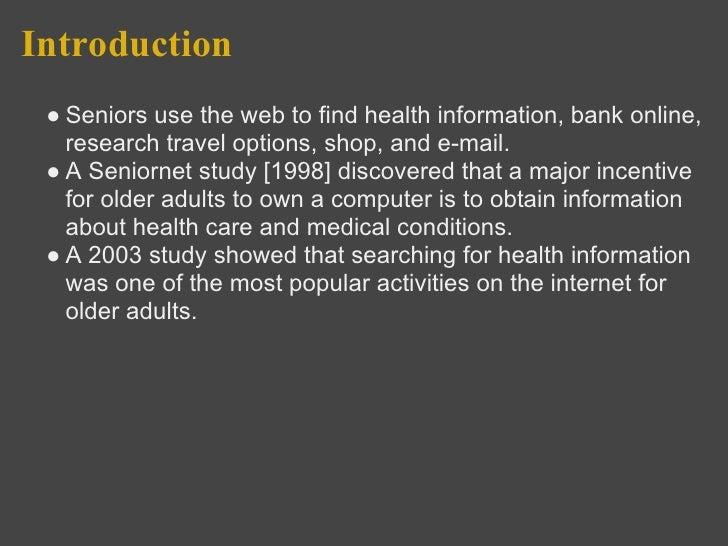 Website Design for Senior Citizens Slide 3
