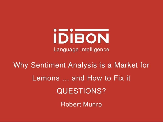what is sentiment analysis and why Sentiment analysis in e-commerce space and understanding its importance for brands selling online.