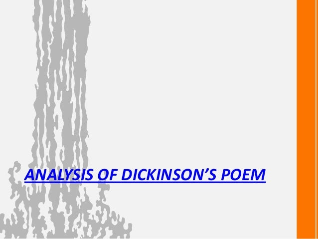 Dickinson essay