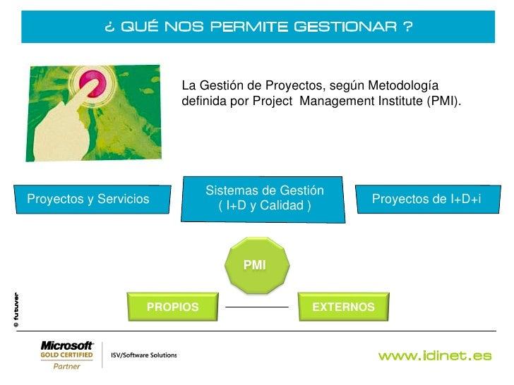 Gesti n integral de organizaciones idinet - Gestion integral de proyectos ...