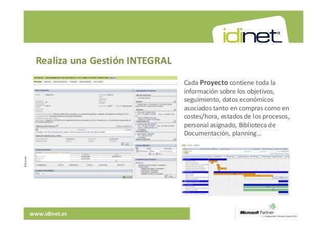 Idinet gesti n integral de la organizaci n - Gestion integral de proyectos ...