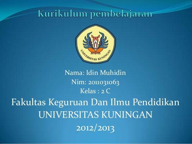 Nama: Idin Muhidin            Nim: 2011031063              Kelas : 2 CFakultas Keguruan Dan Ilmu Pendidikan      UNIVERSIT...