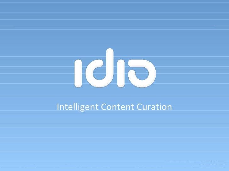 Intelligent Content Curation