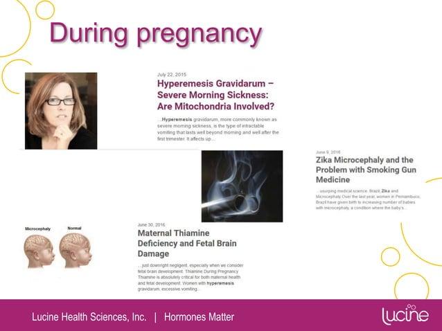 Lucine Health Sciences, Inc.   Hormones Matter During pregnancy