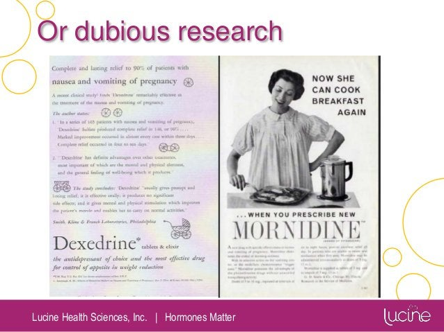Lucine Health Sciences, Inc.   Hormones Matter Or dubious research