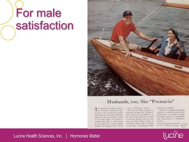 Lucine Health Sciences, Inc.   Hormones Matter For male satisfaction