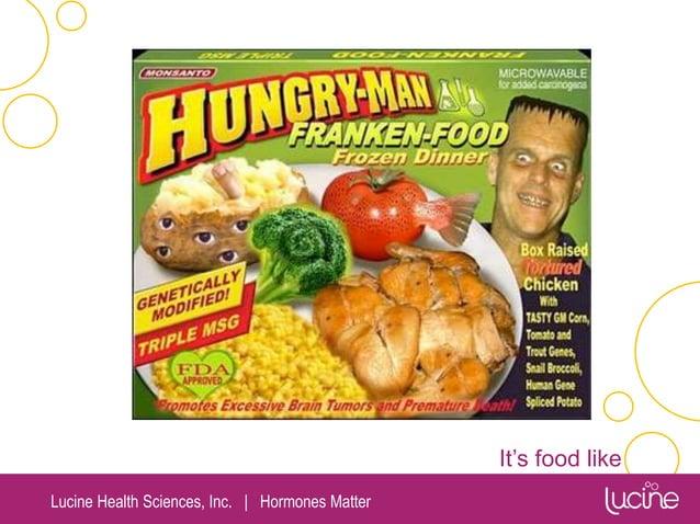 Lucine Health Sciences, Inc.   Hormones Matter It's food like